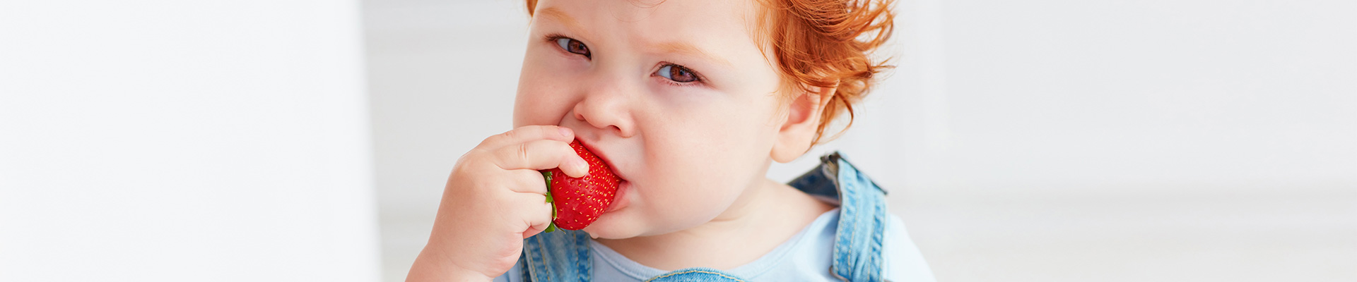 Development milestones associated to food intake
